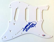 Keith Richards Signed Authentic Autographed Pickguard PSA/DNA LOA #AA00187