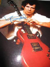 KEITH RICHARDS SIGNED AUTOGRAPH 11x14 PHOTO ROLLING STONES IN PERSON RARE COA