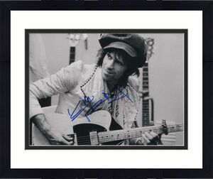 KEITH RICHARDS SIGNED AUTOGRAPHED 11x14 PHOTO THE ROLLING STONES GUITAR, YOUNG 3