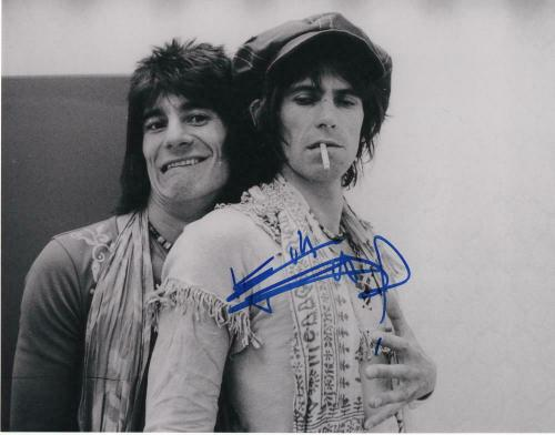 KEITH RICHARDS SIGNED AUTOGRAPHED 11x14 PHOTO THE ROLLING STONES GUITAR, YOUNG 4