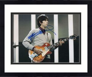 KEITH RICHARDS SIGNED AUTOGRAPHED 11x14 PHOTO THE ROLLING STONES GUITAR, YOUNG 5