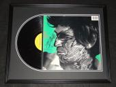 Keith Richards Signed Framed 1981 Rolling Stones Record Album Display JSA