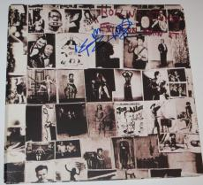 KEITH RICHARDS Signed ROLLING STONES Exile On Main Street ALBUM LP w/ PSA DNA