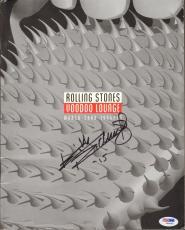 "KEITH RICHARDS Signed ROLLING STONES ""Voodoo Lounge"" Tour Program PSA/DNA Y08655"