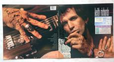 Keith Richards signed Talk is cheap Album Cover 3 auto 2 tickets JSA LOA 1/1