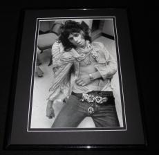 Keith Richards Sleeping 1972 Framed 11x14 Photo Display Rolling Stones