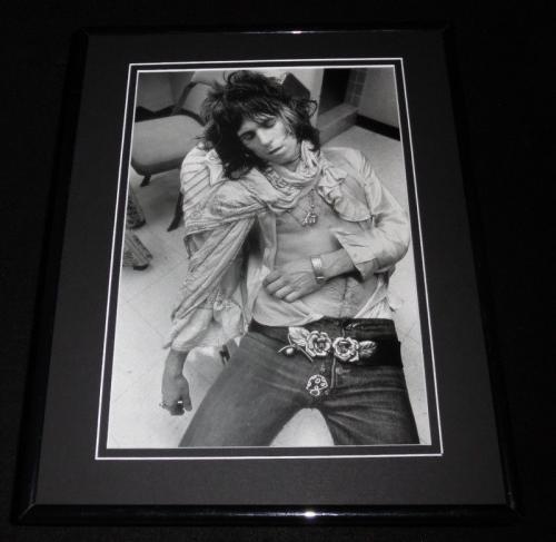 Keith Richards Sleeping 1972 Framed 11x14 Photo Display Rolling Stones