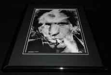 Keith Richards Smoking Framed 11x14 Photo Display Rolling Stones