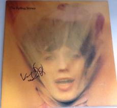 KEITH RICHARDS The Rolling Stones 50TH Signed GOATS HEAD SOUP ALBUM LP PSA DNA