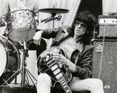 Keith Richards The Rolling Stones Signed 16X20 Photo BAS #A02018