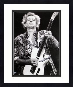 Keith Richards The Rolling Stones Signed 16X20 Photo BAS #A80836