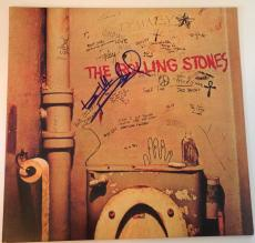 KEITH RICHARDS The Rolling Stones Signed BEGGARS BANQUET ALBUM LP w/ PSA DNA Loa