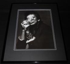 Keith Richards The Rolling Stones Smoking 1988 Framed 11x14 Photo Poster