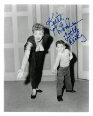 Keith Thibodeau Signed I Love Lucy Autographed 8x10 B/W Photo PSA/DNA #B78875