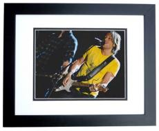 Keith Urban Signed - Autographed Concert 8x10 Photo - American Idol Judge - Country Singer - BLACK CUSTOM FRAME