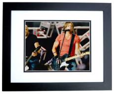 Keith Urban Signed - Autographed Concert 8x10 Photo BLACK CUSTOM FRAME