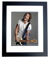 Keith Urban Signed - Autographed Country Singer 8x10 Photo - American Idol Judge - BLACK CUSTOM FRAME