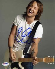 Keith Urban Autographed Signed 8x10 Photo Certified Authentic PSA/DNA AFTAL COA