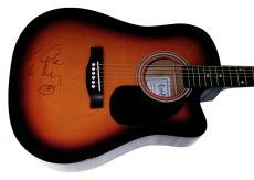 Keith Urban Autographed Signed Guitar UACC RD