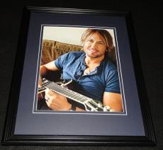 Keith Urban Framed 8x10 Photo Poster