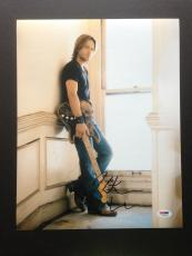 Keith Urban Signed 11x14 Photo Autograph Psa Dna Coa Country Music Singer