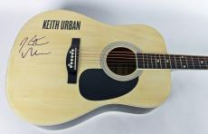 Keith Urban Signed Acoustic Guitar Autographed PSA/DNA #Z97457