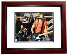Keith Urban Signed - Autographed Country Singer 8x10 Photo - MAHOGANY CUSTOM FRAME