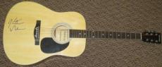 Keith Urban Signed Full Size Acoustic Guitar Country Rock Great Psa/dna Coa
