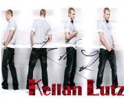 Kellan Lutz Autographed Dark Jeans Signed Photo UACC RD AFTAL
