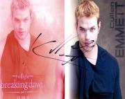 Kellan Lutz Autographed Twilight Signed Photo UACC RD AFTAL