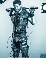 Kellan Lutz Signed 8x10 Photo Authentic Autograph Twilight Expendables 3 Coa
