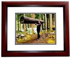 Kellan Lutz Signed - Autographed Twilight Emmett Cullen 8x10 Photo MAHOGANY CUSTOM FRAME