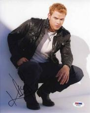 Kellan Lutz Twilight Autographed Signed 8x10 Photo Certified Authentic PSA/DNA