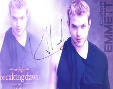Kellen Lutz Autographed Signed 8x10 Photo Twilight Actor AFTAL