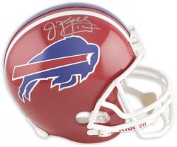 Buffalo Bills Jim Kelly Autographed Pro Line Riddell Replica Helmet - Mounted Memories