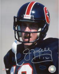 Jim Kelly Autographed Gramblers 8x10 Photo