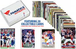 Jim Kelly-Buffalo Bills- Collectible Lot of 20 NFL Trading Cards - Mounted Memories