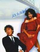 Kelly LeBrock Signed Woman in Red 11x14 Photo PSA/DNA COA Picture w/ Gene Wilder