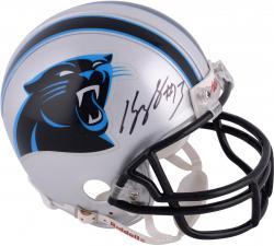Kelvin Benjamin Carolina Panthers Autographed Riddell Mini Helmet
