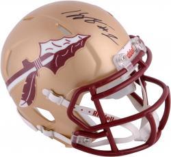 Kelvin Benjamin Florida State Seminoles Autographed Riddell Mini Helmet