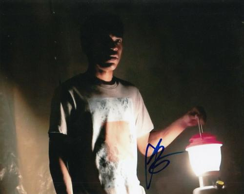 KELVIN HARRISON JR signed (IT COMES AT NIGHT) Movie 8x10 photo *TRAVIS* W/COA