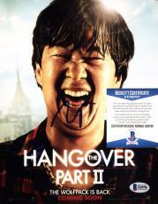 Ken Jeong Hangover II Signed Autographed 8x10 photo BAS Cert # B58790
