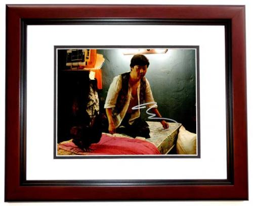 Ken Jeong Signed - Autographed THE HANGOVER 8x10 inch Photo MAHOGANY CUSTOM FRAME - Guaranteed to pass PSA or JSA