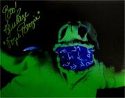 Ken Page Hand Signed Auto 11x14 Photo Nightmare Before Christmas Oogie Boogie