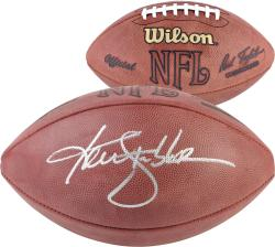 Ken Stabler Autographed Football - Mounted Memories