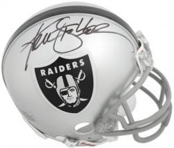 Ken Stabler Oakland Raiders Autographed Riddell Mini Helmet