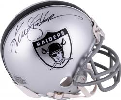Ken Stabler Oakland Raiders Autographed Throwback Mini Helmet