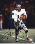 Ken Stabler Oakland Raiders Autographed 8'' x 10'' Drop Back Photograph - Mounted Memories