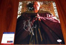 Ken Watanabe Signed 11x14 Batman Begins Ra's Al Ghul PSA/DNA