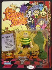 KEN WEATHERWAX signed Pugsley Addams action Figure-NEW Unopened- JSA Authentic